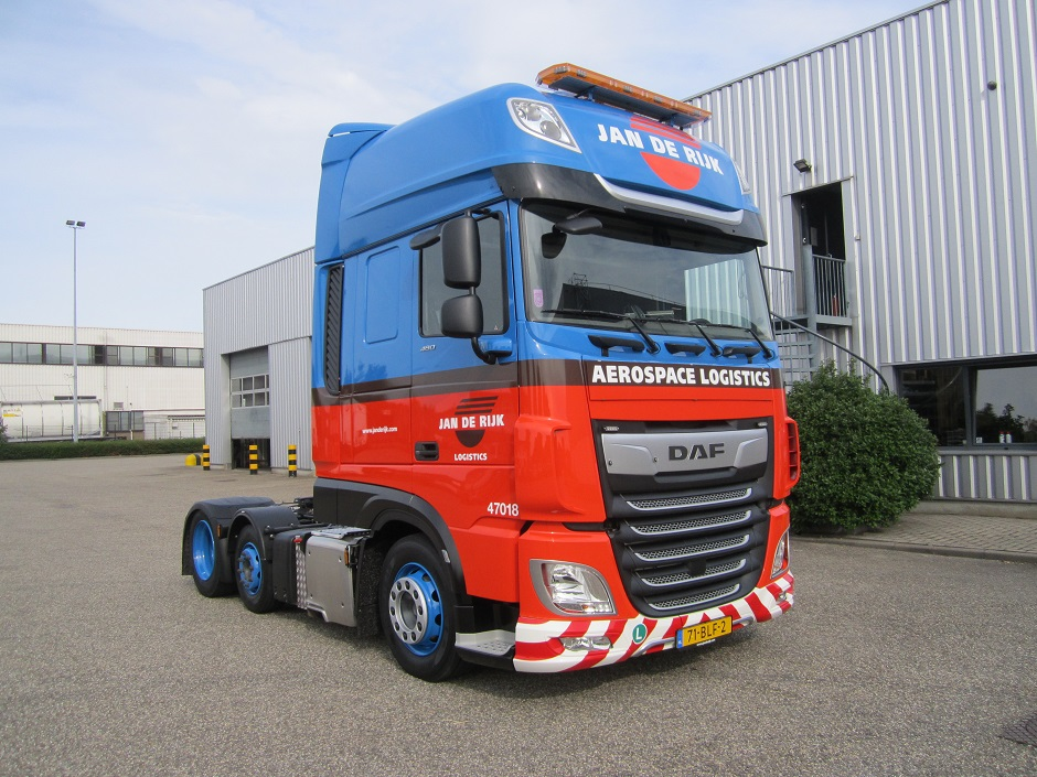 Levering 80 DAF's aan Jan de Rijk Logistics
