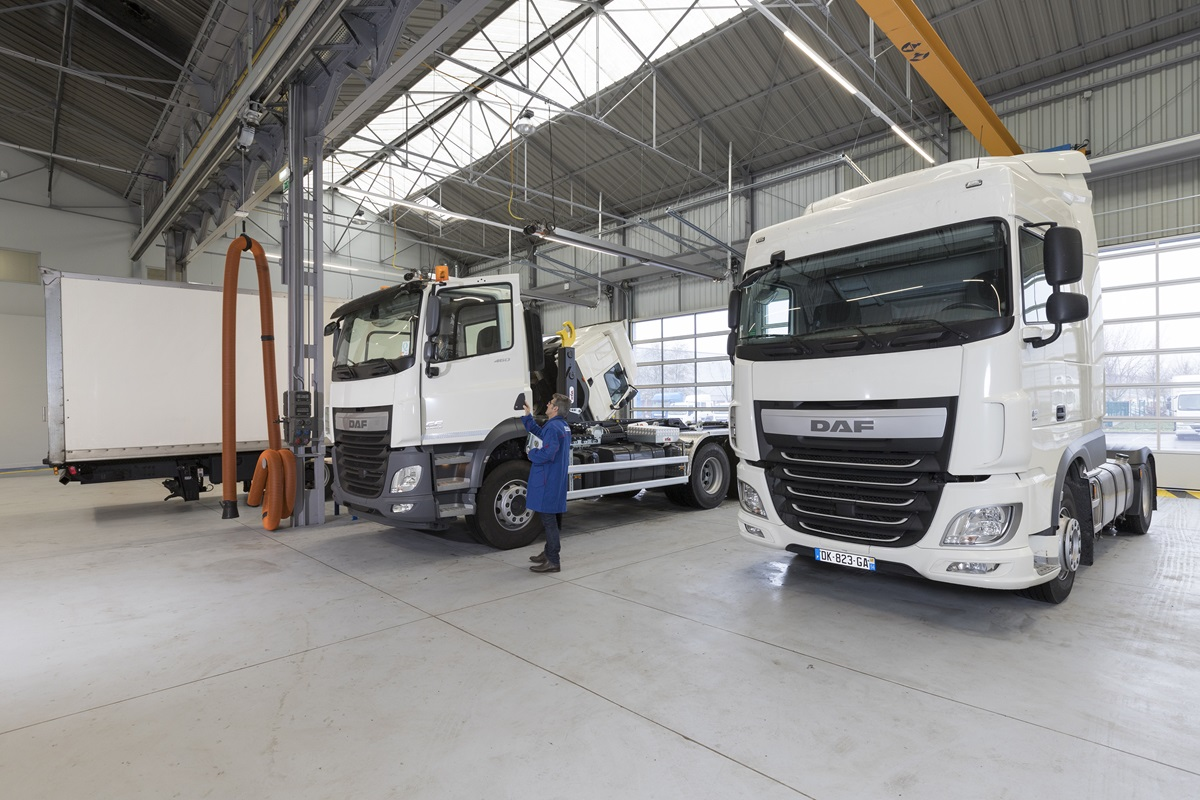 DAF Trucks opens new dealership in Paris