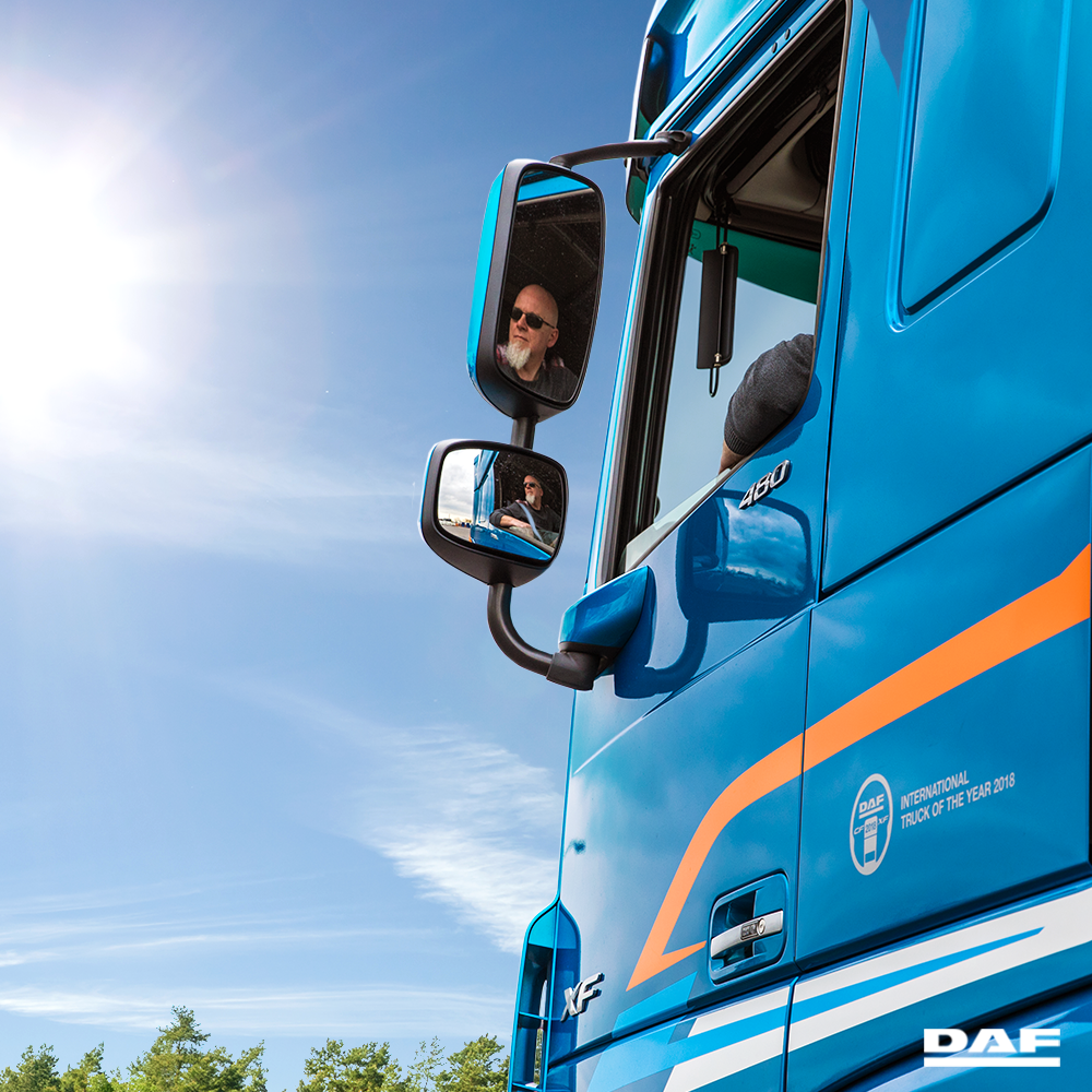 DAF demo driver Rob