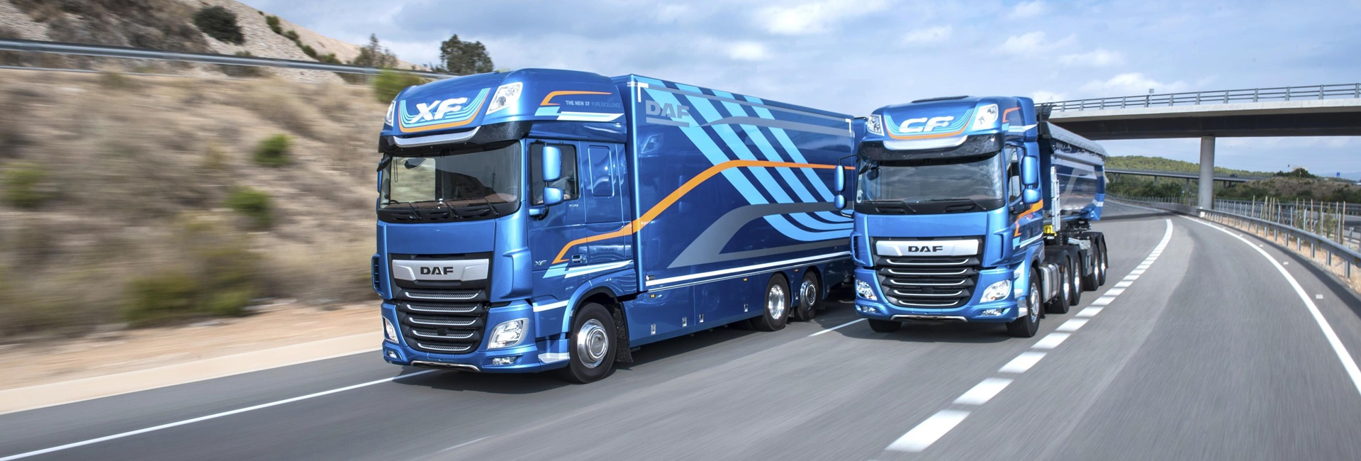 DAF Model range XF and CF