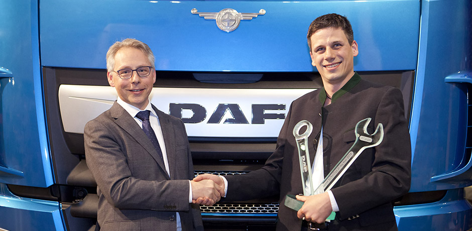 DAF European Technician of the Year 2018