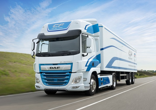 DAF VDL CF Electric Truck