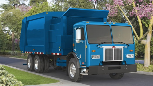 Peterbilt Model 520 Electric Refuse Truck